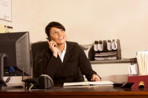 Executive assistants handle phones, candidates -- and they have the boss' ear. iStockPhoto