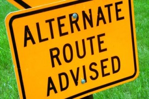 Alternate Route Advised